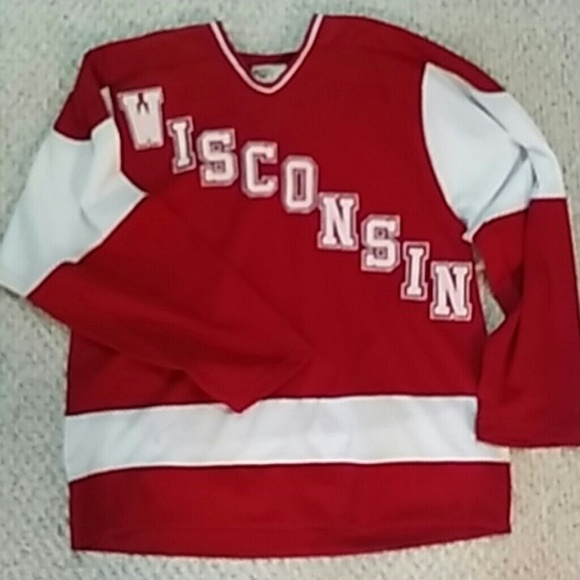 Koronis Sports Apparel Other - Wisconsin Badgers hockey Jersey 2c36a4b0439